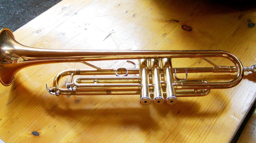 Une trompette de bonne qualité